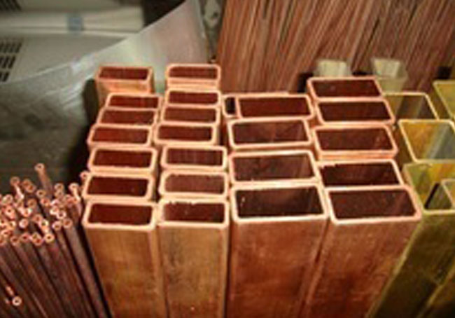 Copper Nickel 90/10 rectangular pipe
