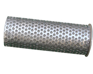 SS Seamless Perforated Tube